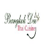 Bangkok Dee Thai Cuisine