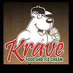 Krave Ice Cream and Food