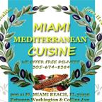 Miami Mediterranean Cuisine